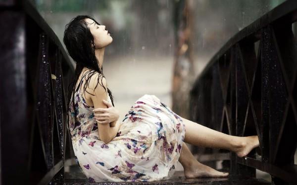 mưa và em