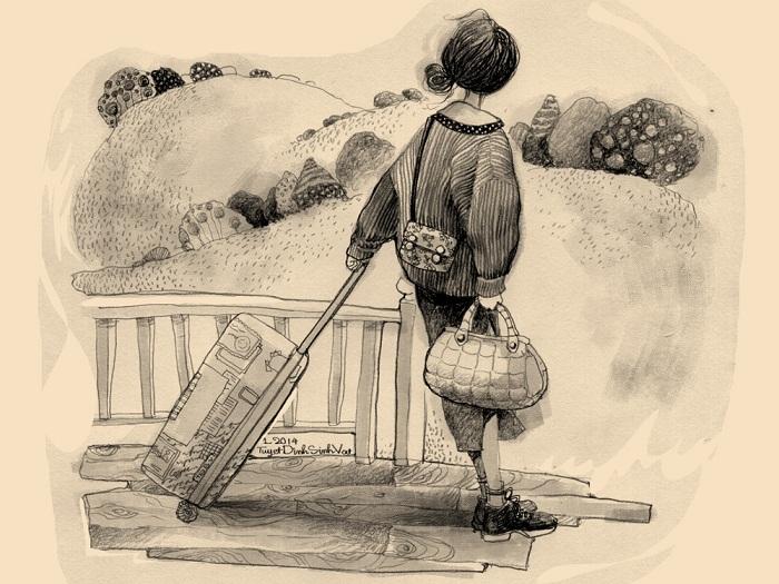 Chiều trở mình suy nghĩ của đứa con viễn xứ, blog radio