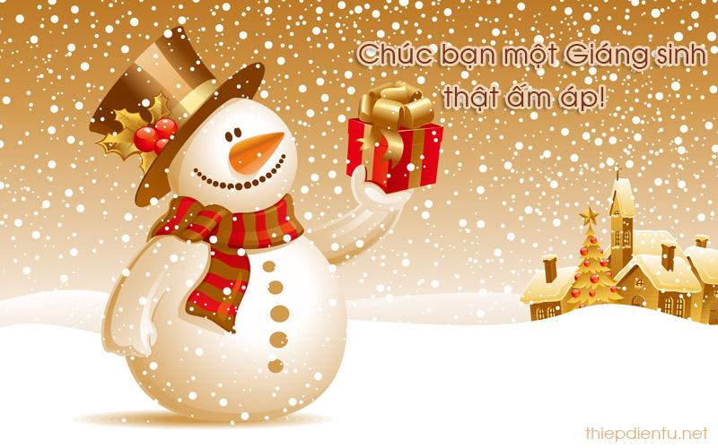Tấm Thiệp Giáng Sinh