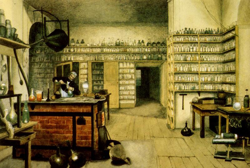 Câu chuyện về Michael Faraday Gian Phòng Thí Nghiệm nhỏ