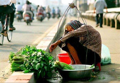 Cái chết của cụ già bán rau
