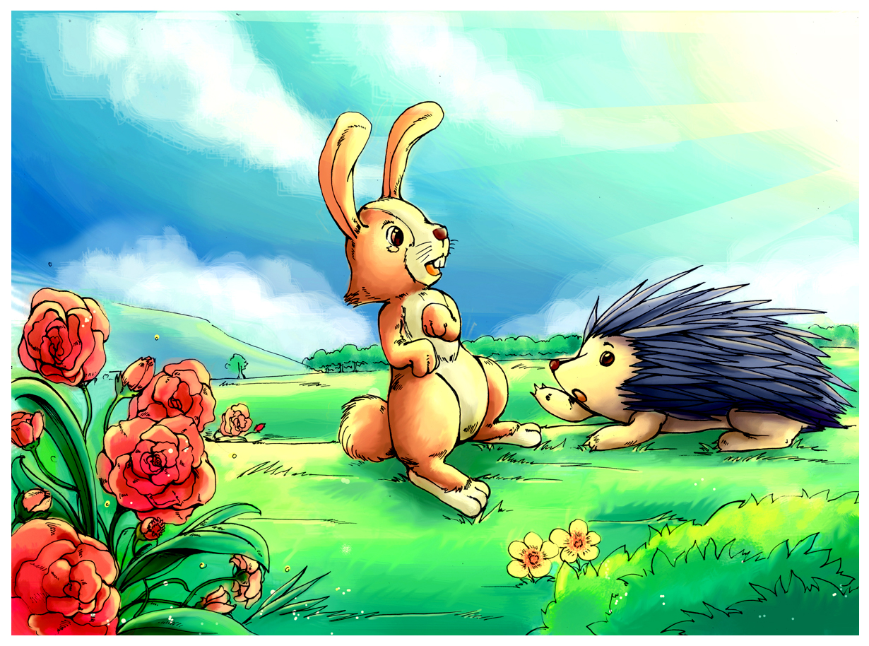 Thỏ và Nhím