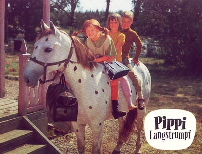Pippi chơi trò đuổi bắt với cảnh sát ( Pippi tất dài, phần 4)