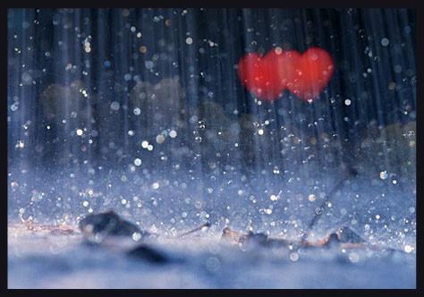 Lan can ngày mưa