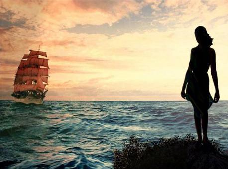 Cánh buồm đỏ thắm, Phần 7