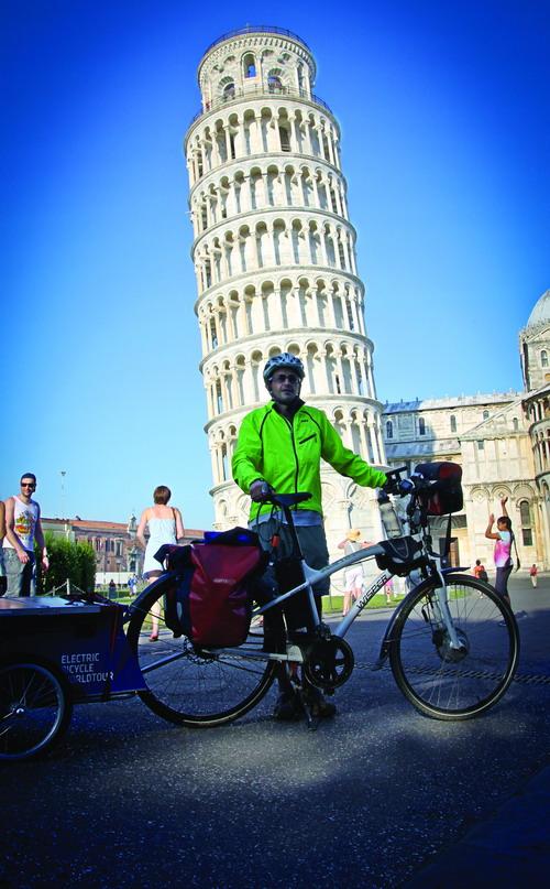 Dấu chân online 100 - Vòng quanh thế giới trên xe đạp (Phần 7) - Hành trình chia đôi