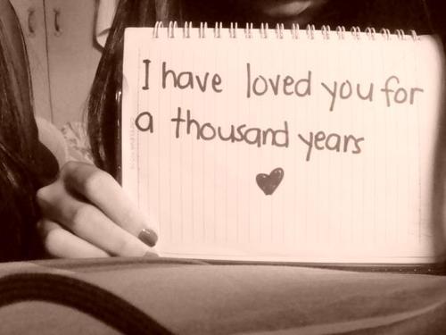 CXAN 233: A thousand years - yêu em hơn cả ngàn năm