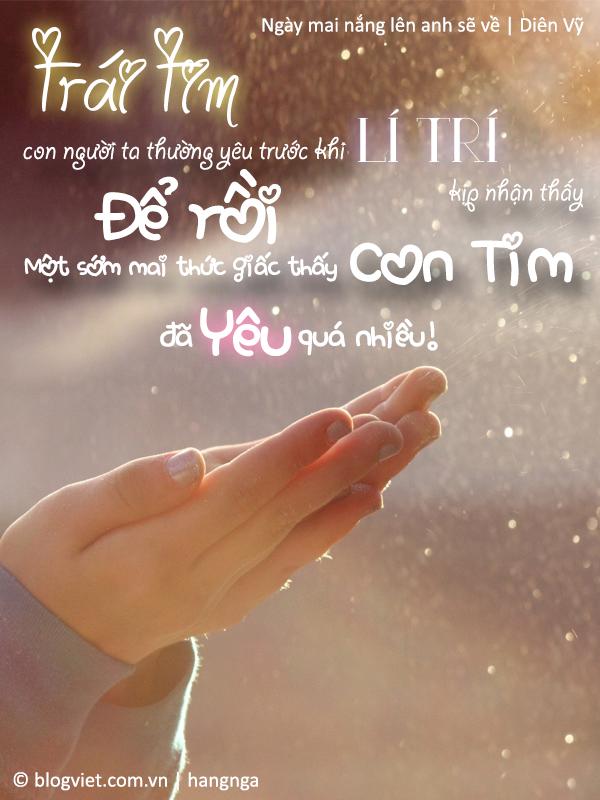 Photo quote Hãy yêu khi còn có thể! - Bí mật sau trang sách (Phần 1)
