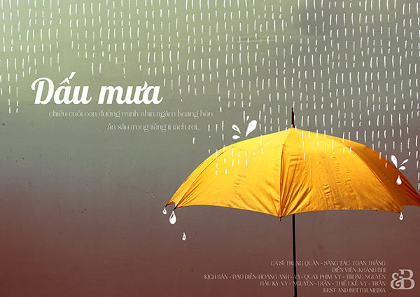 dấu mưa