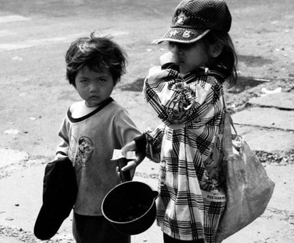 Những đứa trẻ lang thang