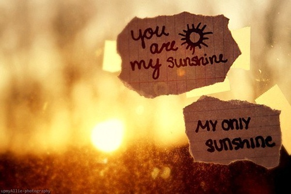 CXAN 243: You are my sunshine