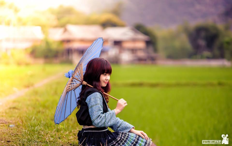 Bộ ảnh: Màu xanh của miền sơn cước