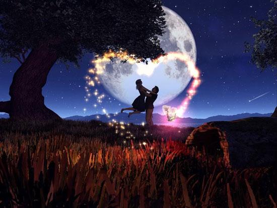 Ánh trăng nói hộ lòng em