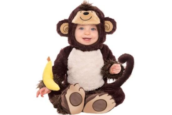bé khỉ may mắn