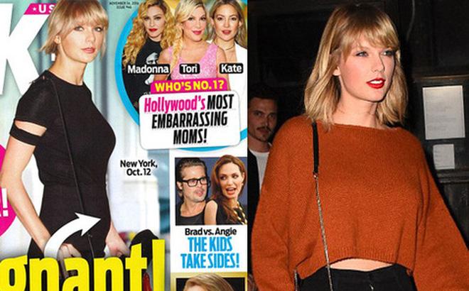 Taylor Swift bị đồn có thai nhưng không biết cha đứa bé là ai?