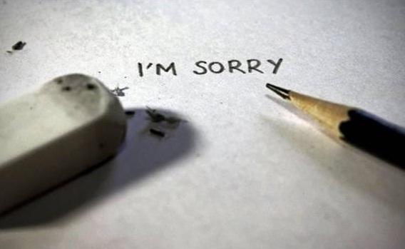 Lời xin lỗi có thật sự khó nói?