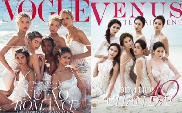 HotNews 19/05:Dàn mẫu 'Đêm hội chân dài' bắt chước ảnh chụp các chân dài Victoria's Secret: Thiếu khả năng sáng tạo?