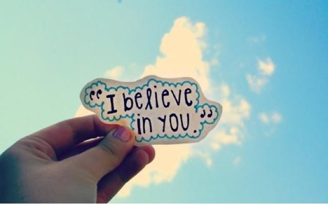 Đừng đánh mất niềm tin!