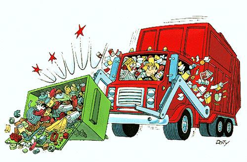 Quy luật xe rác