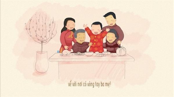 Chùm thơ: Tết của những đứa con xa