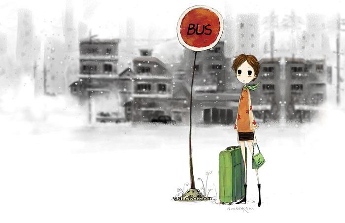 Bình yên với những chuyến xe bus Sài Thành