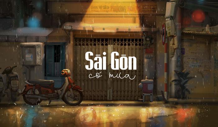 Sài Gòn ngày mưa