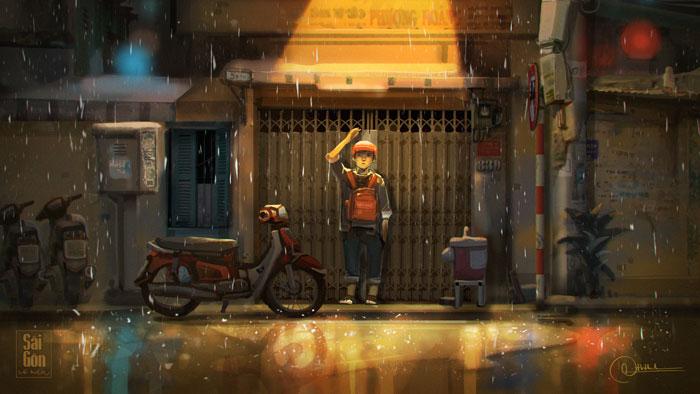 Ba mùa mưa Sài Gòn
