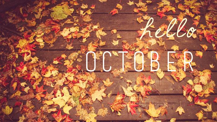 Chào tháng Mười, mùa thu đã về rồi!