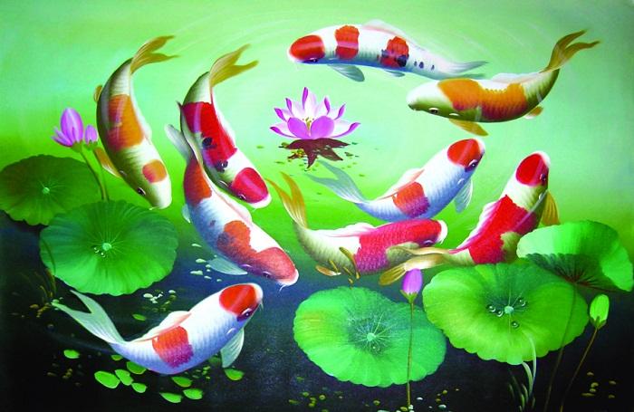 blog radio, Treo tranh phong thủy giúp 12 con giáp tiền vào như nước