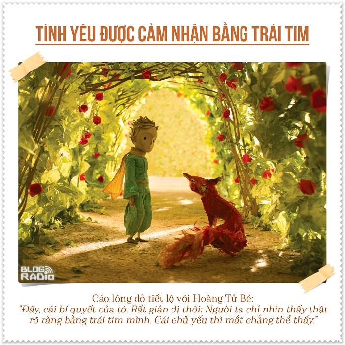 blog radio, 8 triết lý về tình yêu cực ý nghĩa trong truyện Hoàng Tử Bé