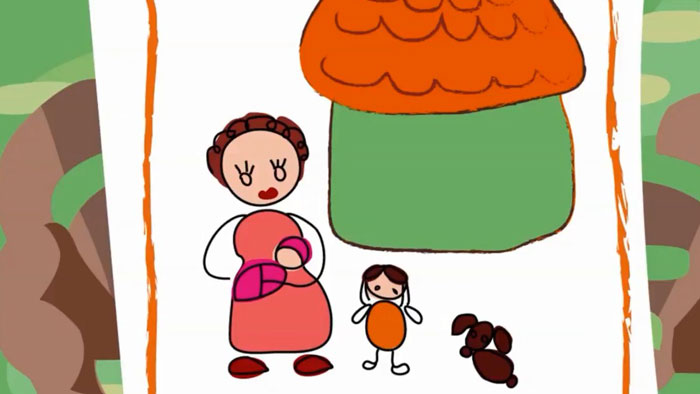 Bức tranh gia đình (Bóng mát tâm hồn)