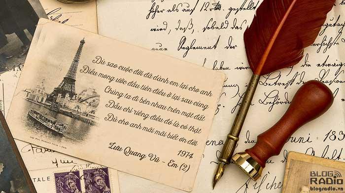 Blog Radio 545: Những lá thư tay còn nồng nàn lời thương nhớ