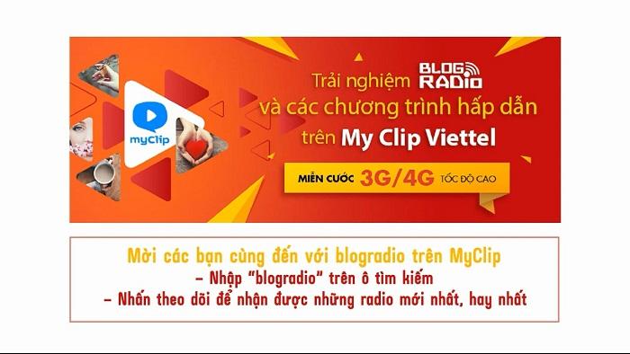 blog radio, Cùng Blog Radio trải nghiệm những xúc cảm mới trên My Clip