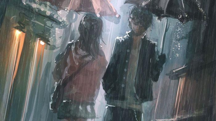 Chạy trốn dưới những cơn mưa