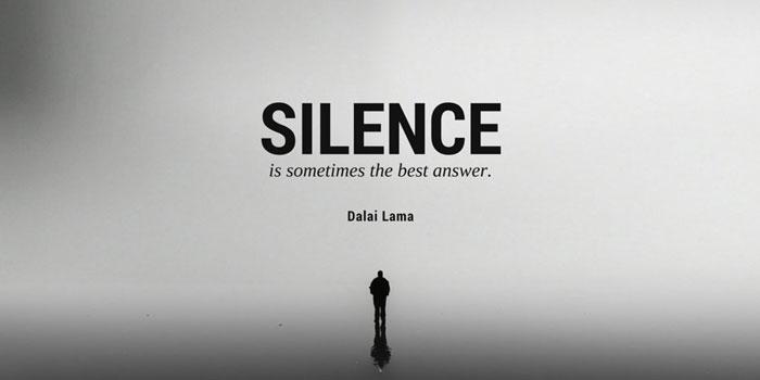 Có những thứ không nhất thiết phải nói ra thì tốt hơn cứ nên im lặng