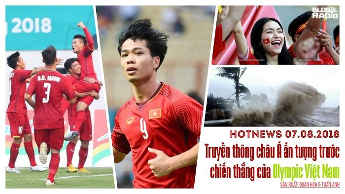 Hotnews: Truyền thông châu Á ấn tượng về chiến thắng của Olympic Việt Nam