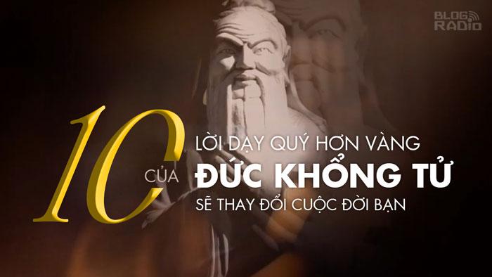 10 lời dạy quý hơn vàng của Đức Khổng Tử (Cafe Vlog)