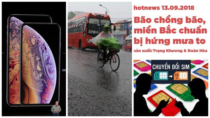 Hotnews: Bão chồng bão, miền Bắc chuẩn bị hứng mưa to