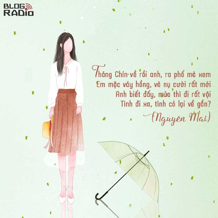 Thơ Radio: Tháng chín về, mơ những giấc ngủ bình yên