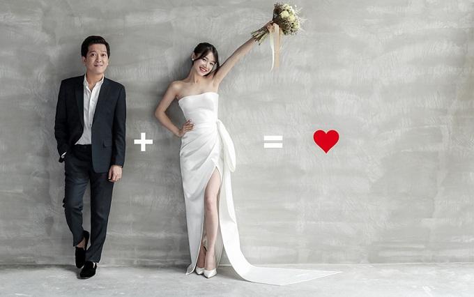 Chú rể Trường Giang cẩn thận chăm sóc Nhã Phương trong ngày cưới