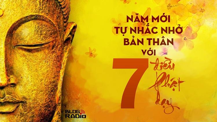 Năm mới tự nhắc nhở bản thân với 7 điều Phật dạy