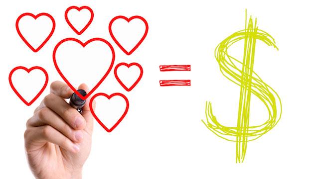 Sức mạnh của đồng tiền và lòng yêu thương chân thành